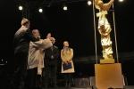 Svěcení kamenné sochy sv. Jana Nepomuckého na Navalis (foto Martin Frouz)