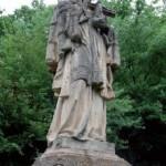 Původní socha dnes